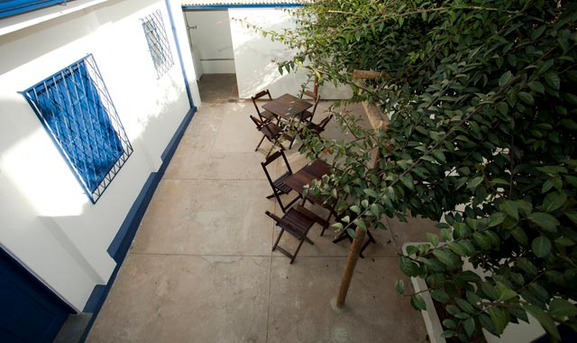 Quintal do Hostel em BH