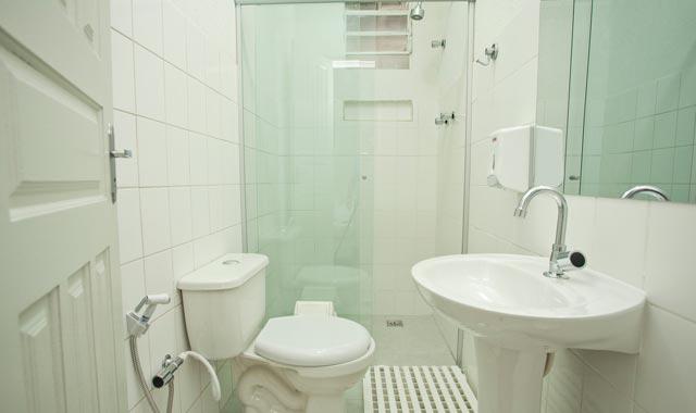 Banheiro da Suíte do Hostel