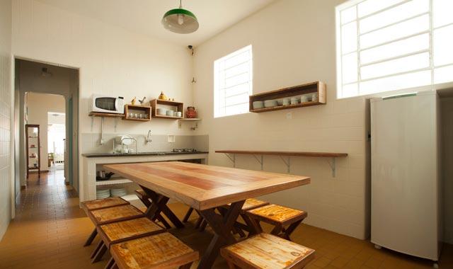 Cozinha Compartilhada Hostel BH