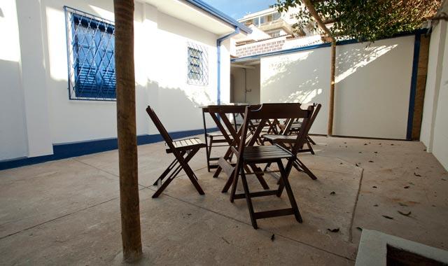Quintal do Hostel